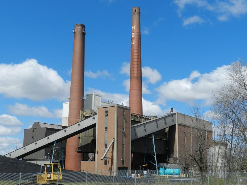 MSU's T.B. Simon Power Plant