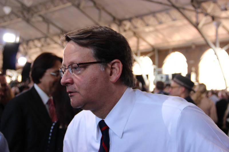 U.S. Rep. Gary Peters, D-MI, attended the event.