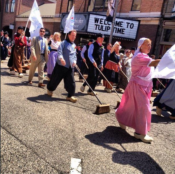 Gov. Rick Snyder's office shared this photo of the Tulip Time Festival.