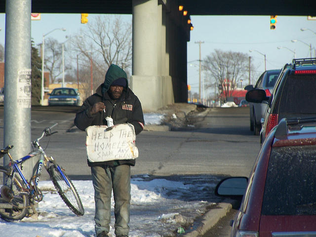 A federal judge in Grand Rapids ruled a Michigan law banning panhandling is unconstitutional.