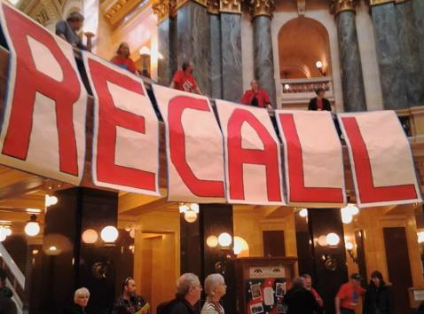 Organizers of the new effort to recall Michigan Gov. Rick Snyder say they're drawing inspiration from Wisconsin's recall effort.