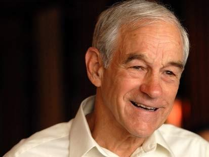 Republican presidential canidate Ron Paul