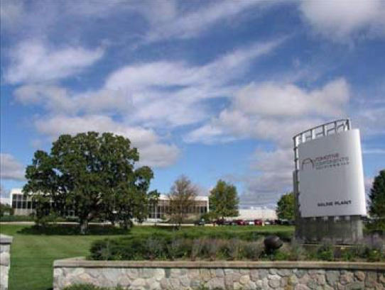 The Saline, Michigan parts plant acquired by Faurecia.