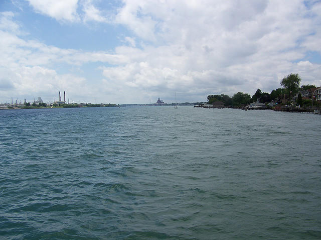 Bluewater Gas Storage plans to build a pipeline under the St. Clair River