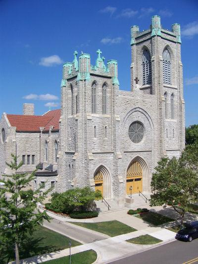 St. Mary Cathederal in Lansing