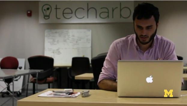 TechArb is a business incubator that encourages University of Michigan students to develop their business ideas.