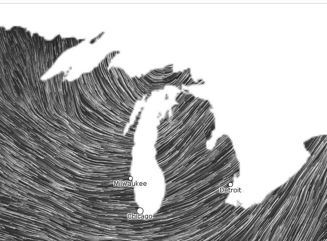 Winds Whipping Up Big Waves Causing Power Outages In Michigan