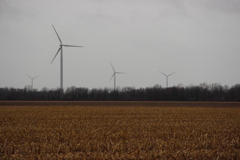 DTE Energy owns 64 of the turbines, and Invenergy owns 69 of them.