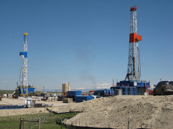 Extraction Of Natural Gas From Fracking