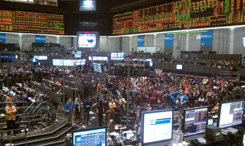 Chicago board of trade options market