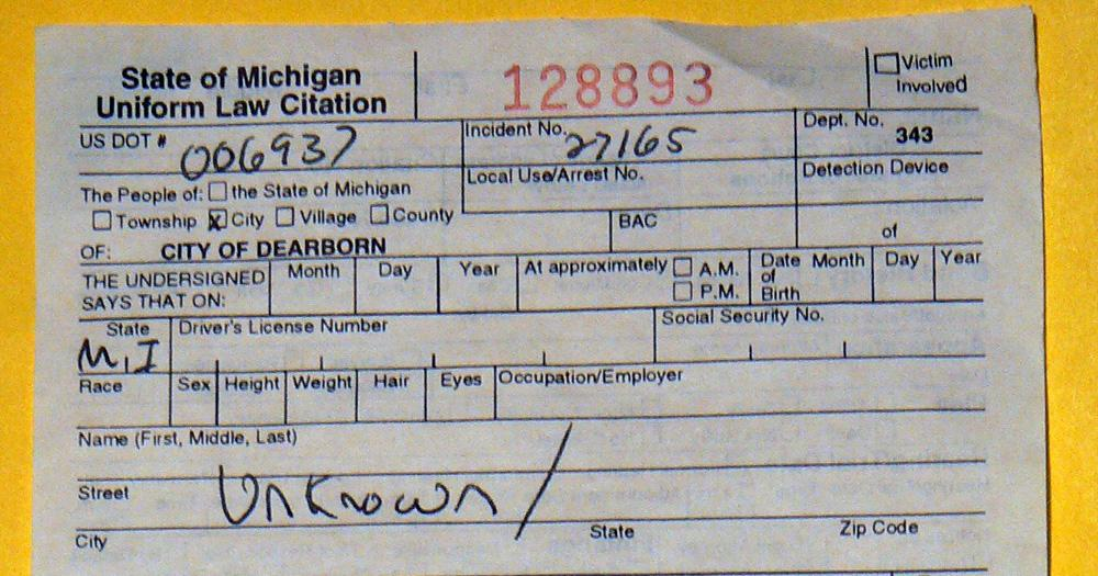 3 unpaid parking tickets in michigan could cause license renewal