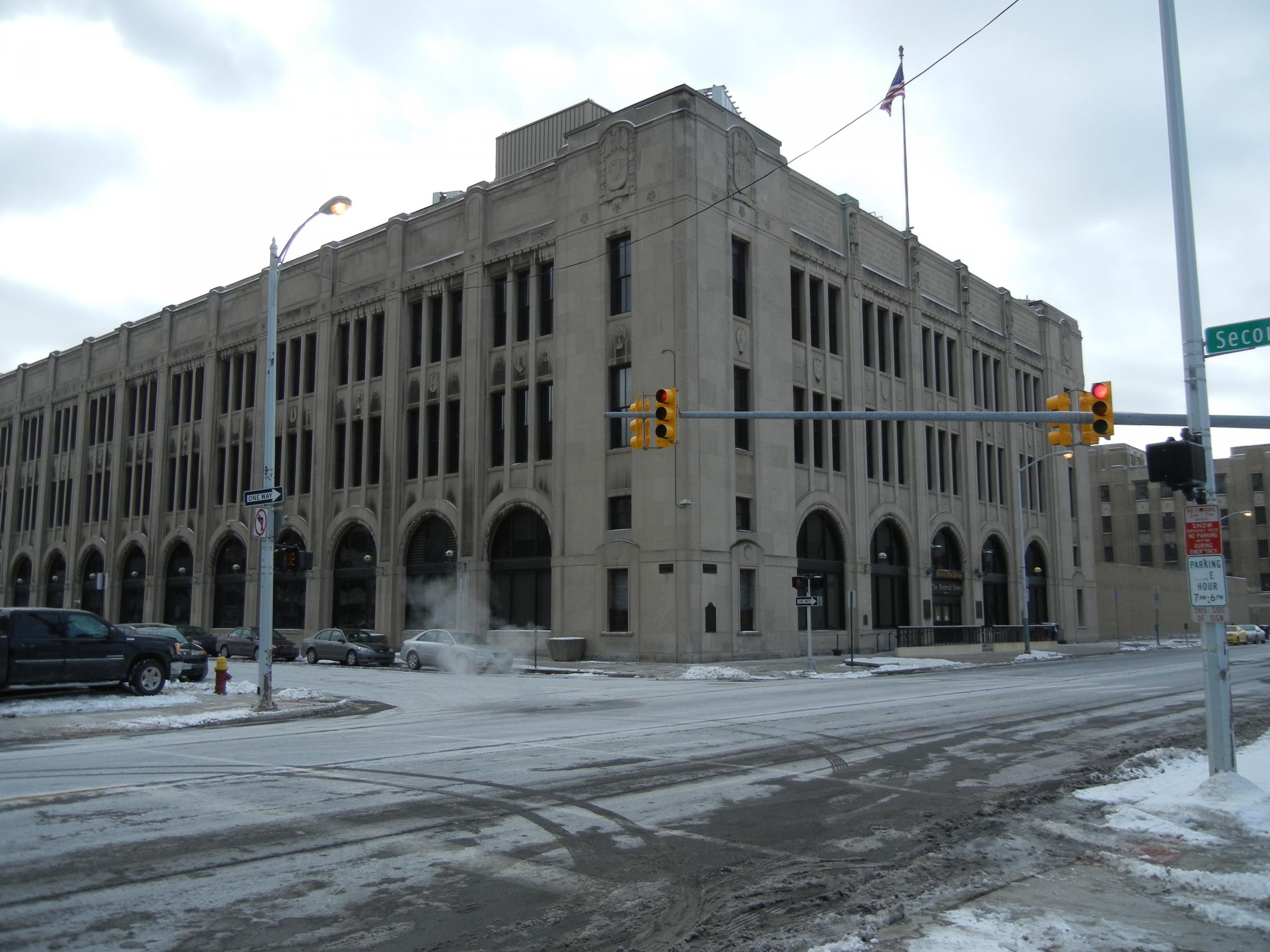 City Of Detroit Building Demolition