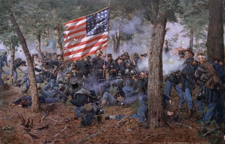gettysburg fight date