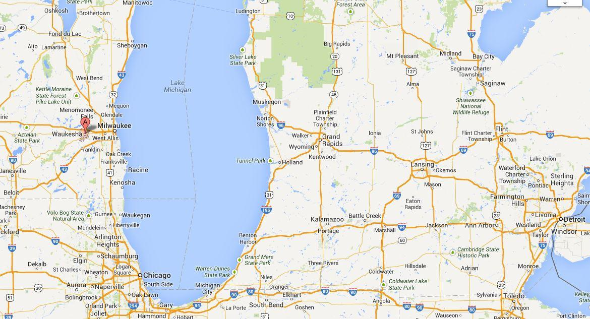 Michigan And Wisconsin Map.Senate Resolution Opposes Wisconsin City S Proposal To Divert Lake