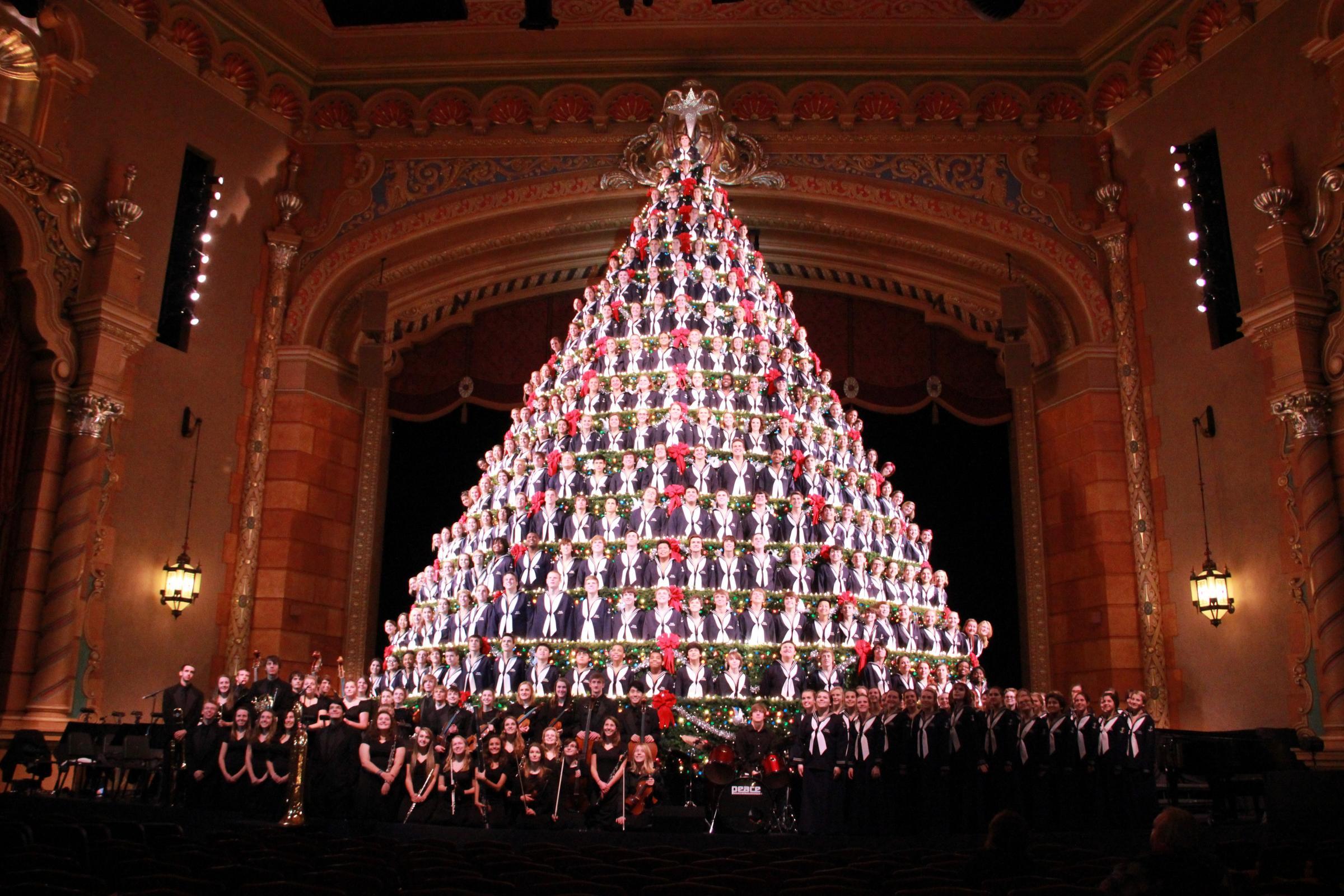 christmas trees singing tree - photo #36