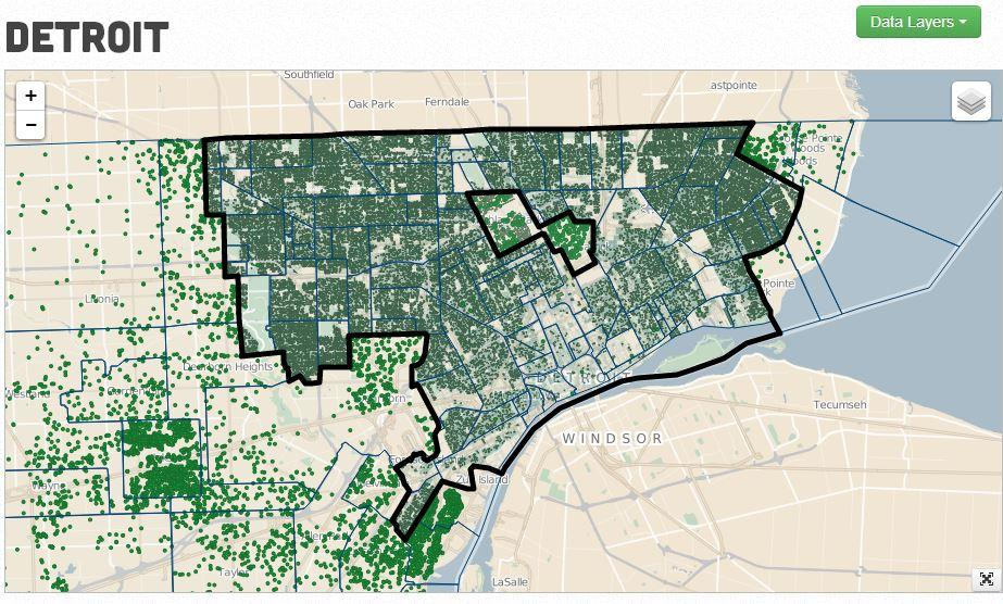 Look at this interactive map for insight into one of Detroit\'s ...