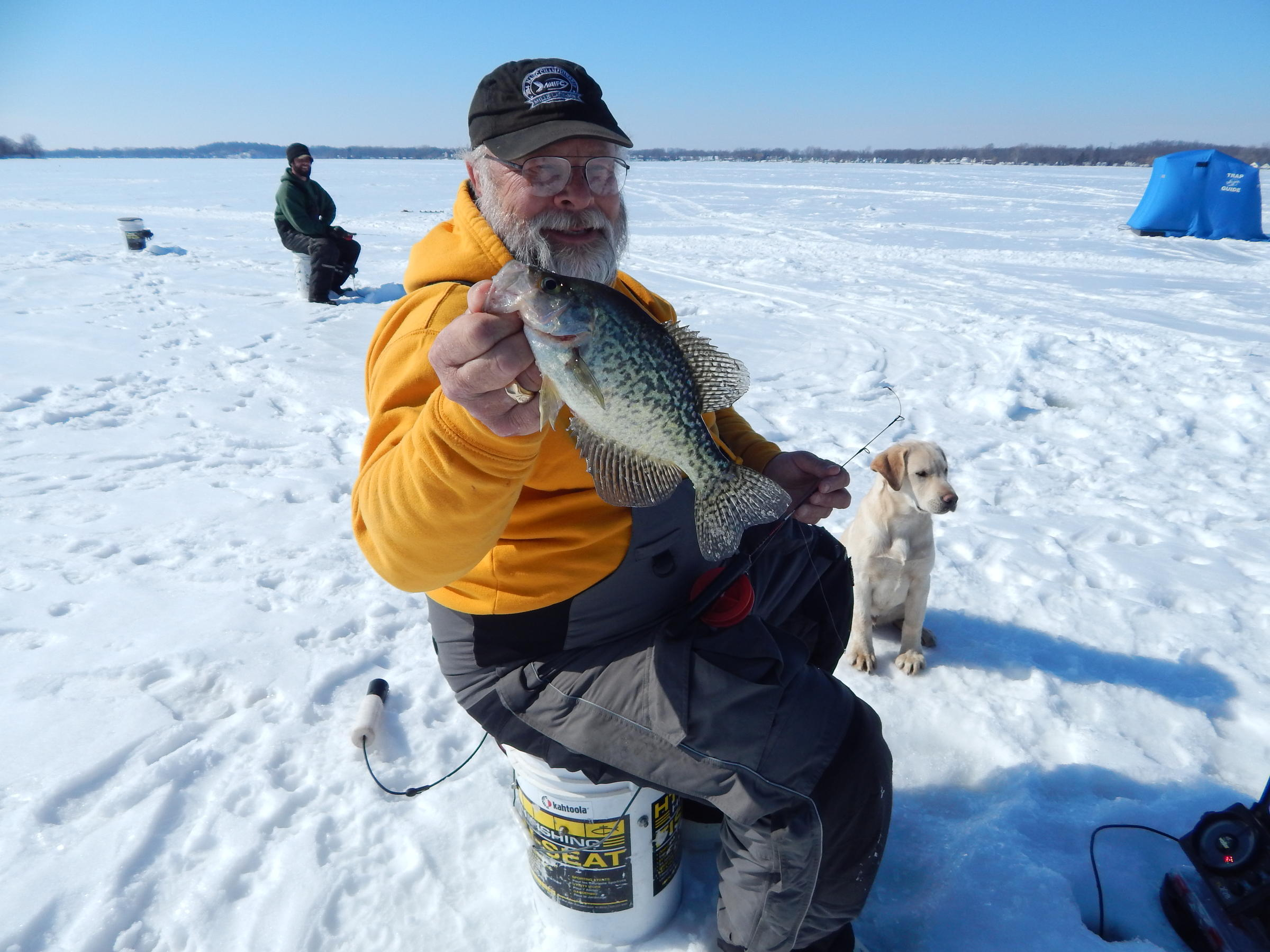 Michigan native competes in world ice fishing championship for Fishing in finland