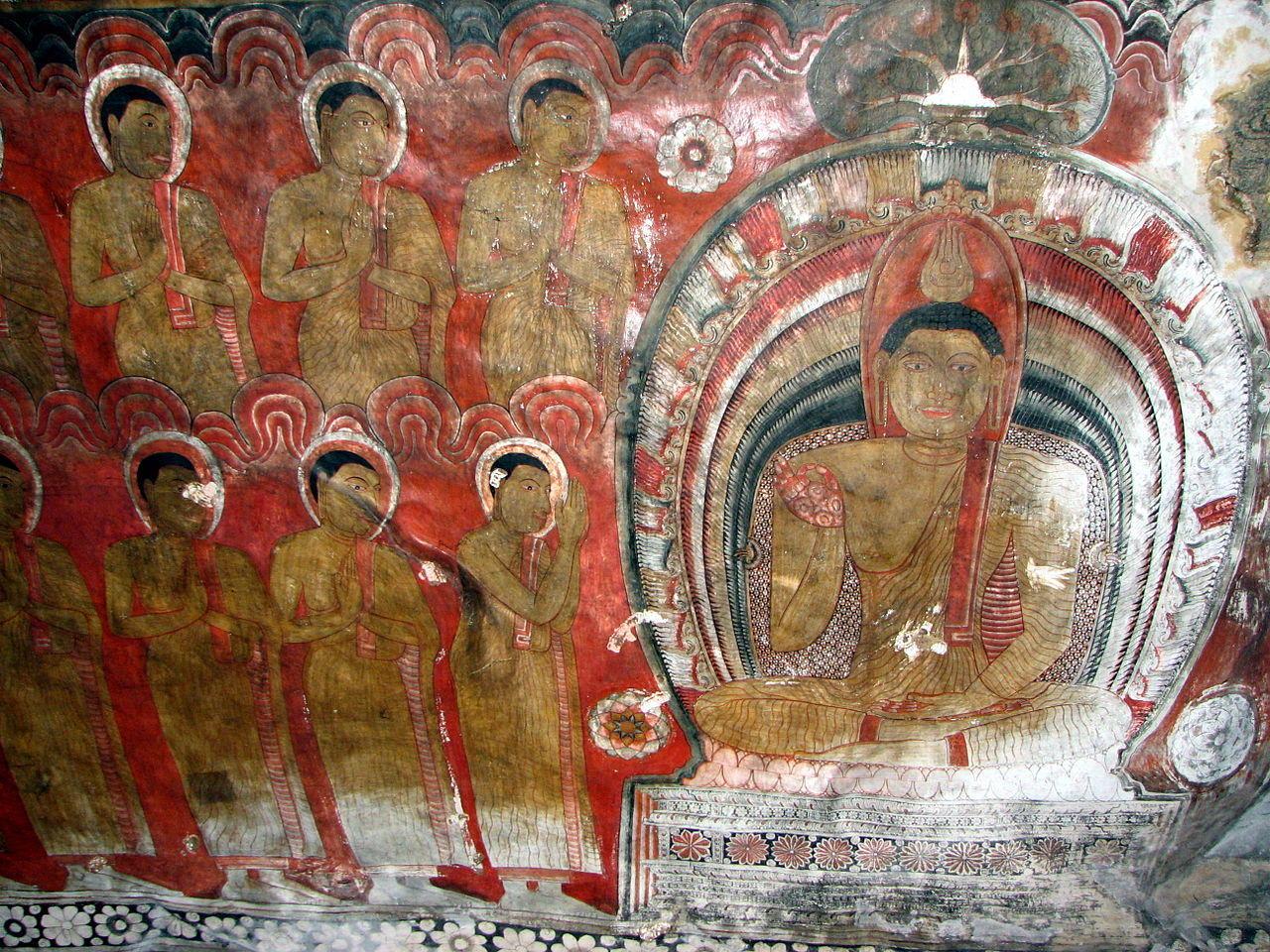 2 million gift creates thai professorship of theravada for Buddha mural paintings