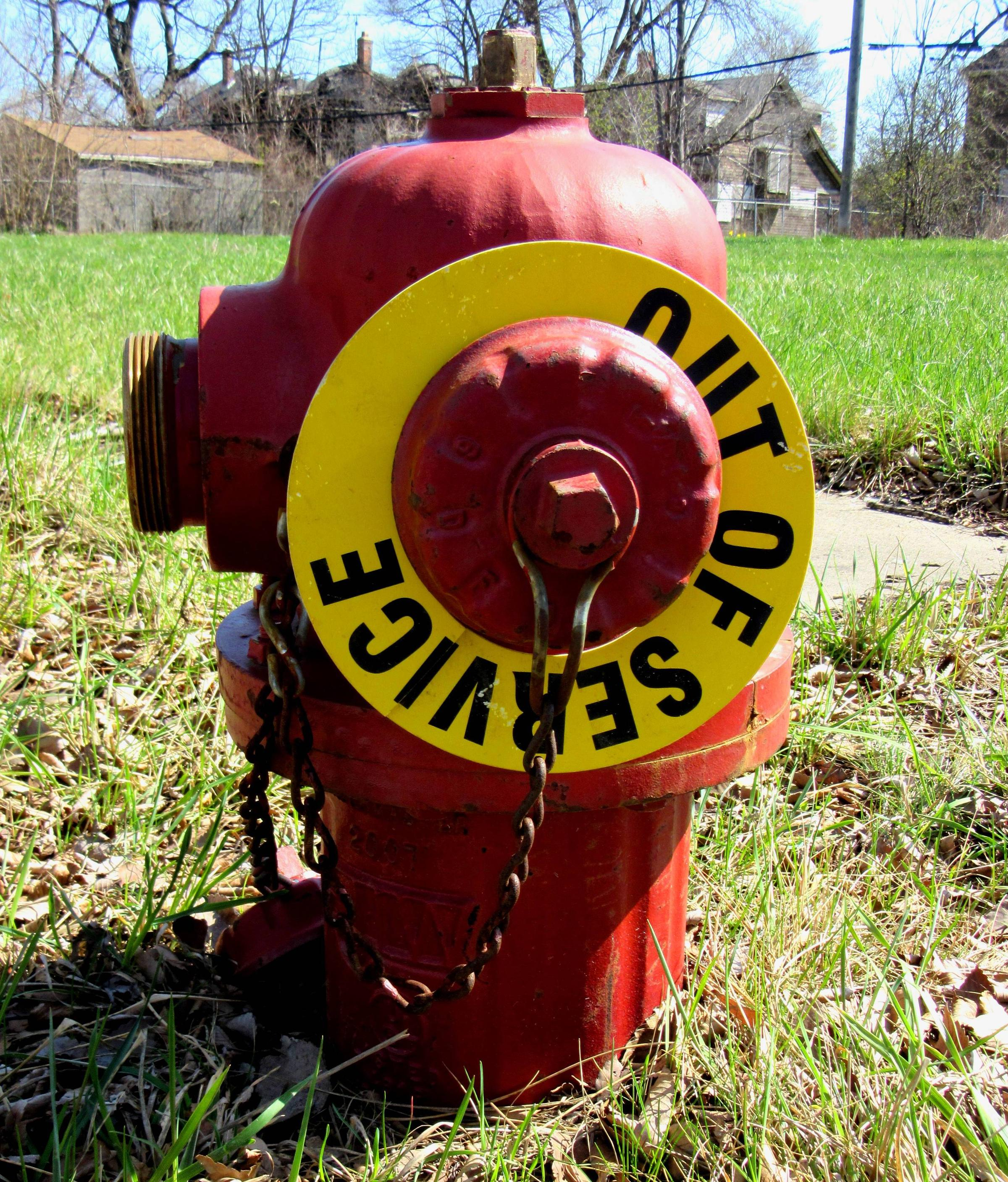 Broken Fire Hydrants Contribute To More Detroit Buildings