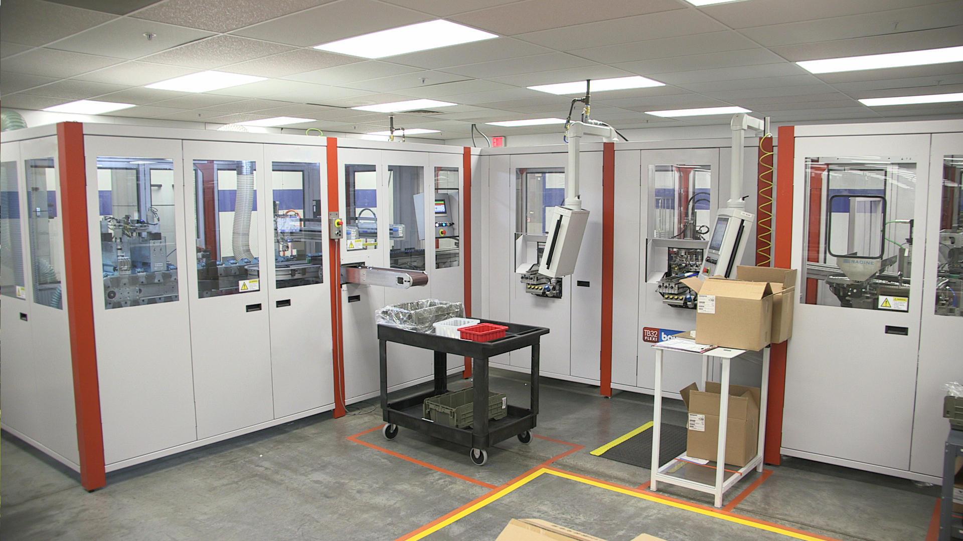 michigan production machine