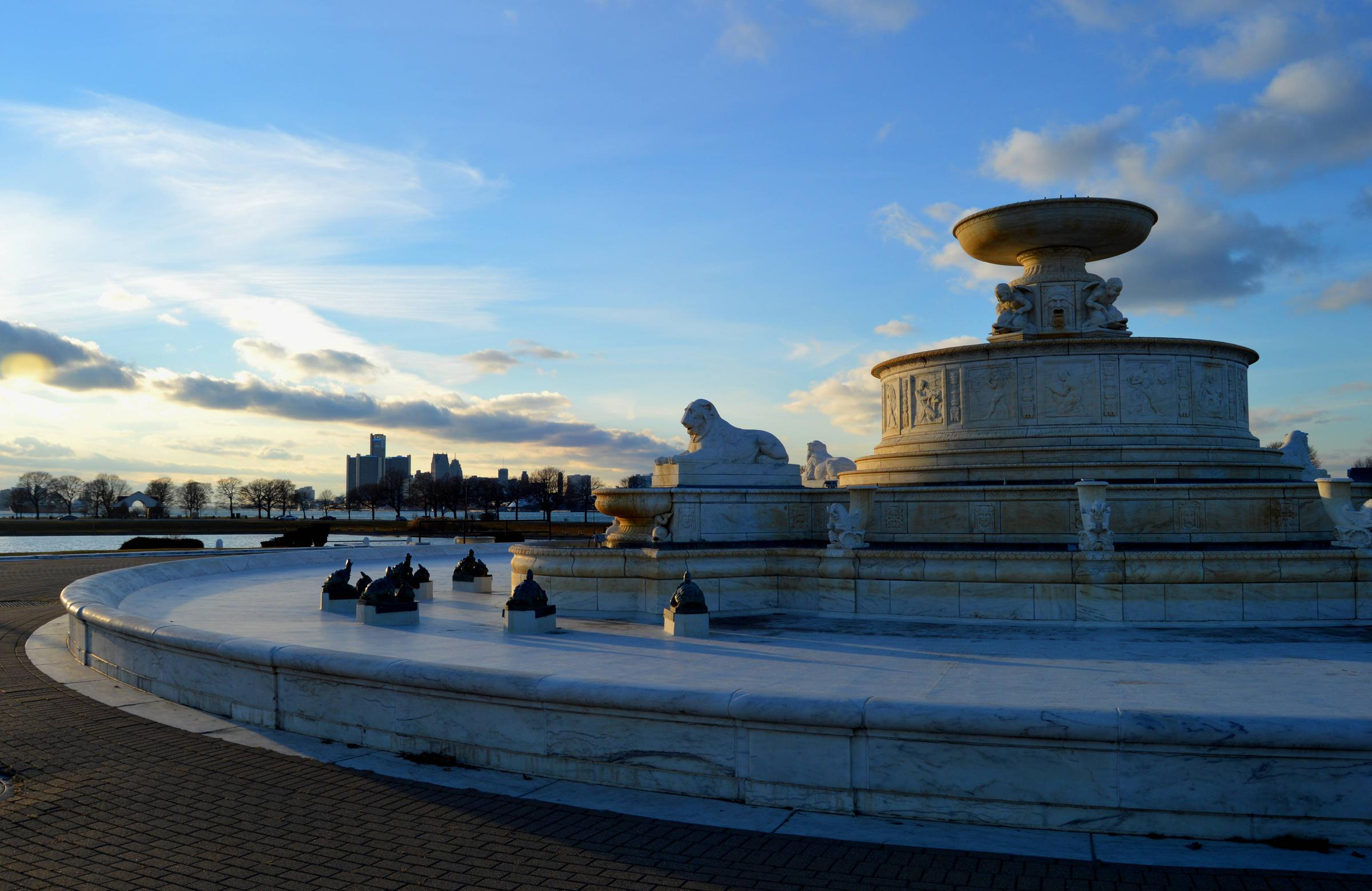 The James Scott Fountain At Belle Isle State Park Detroit