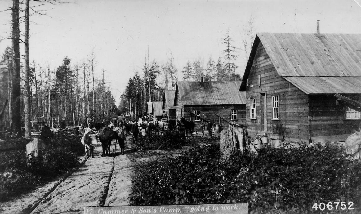 ... Michigan'... Logging Camp History