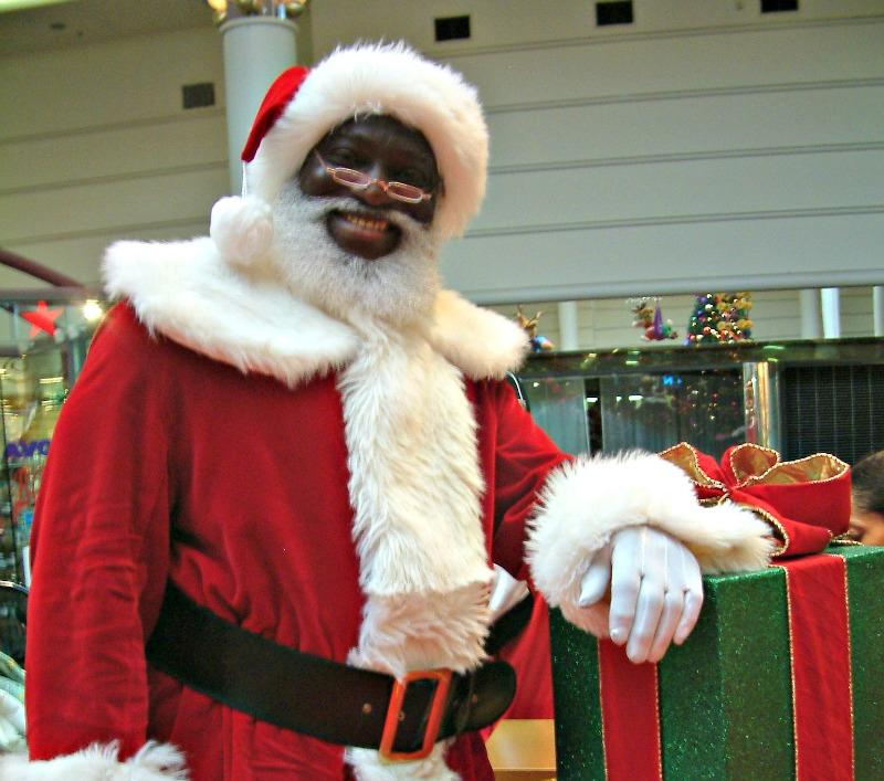 Black santa event helps fill void left by shuttered
