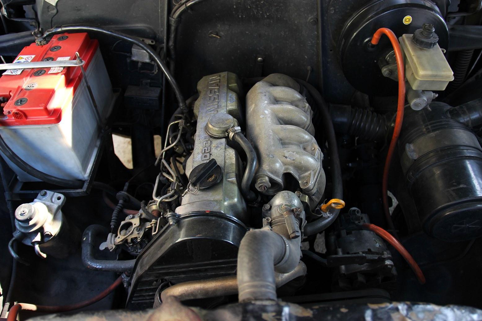1995 Nissan Jeep Engine