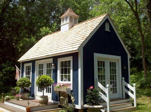 Building up tiny houses to break down asset inequality michigan radio - Garden sheds michigan ...