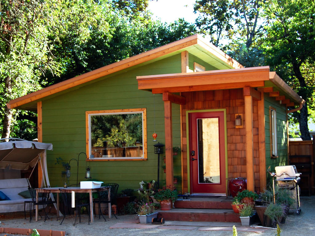Building up tiny houses to break down asset inequality Tiny house in backyard