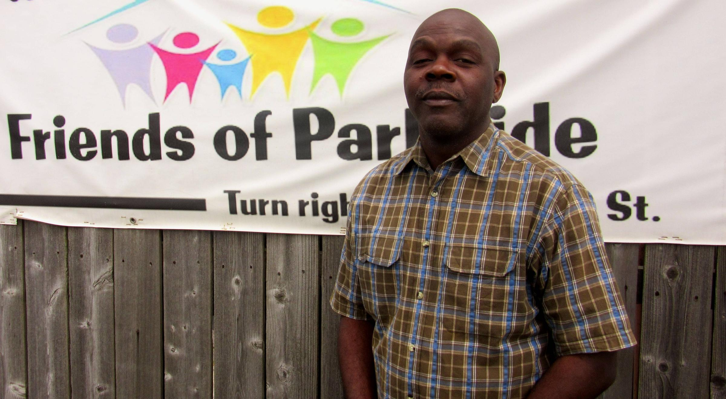 Zachary Rowe with Friends of Parkside believes public housing residents face bias by some employers.