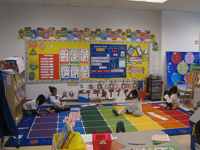 Innovative First Grade Classroom ~ For many low income families in michigan child care is