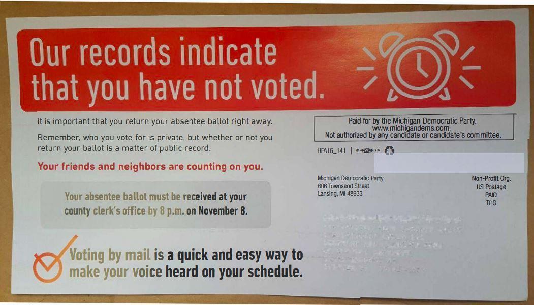 absentee ballot | Michigan Radio