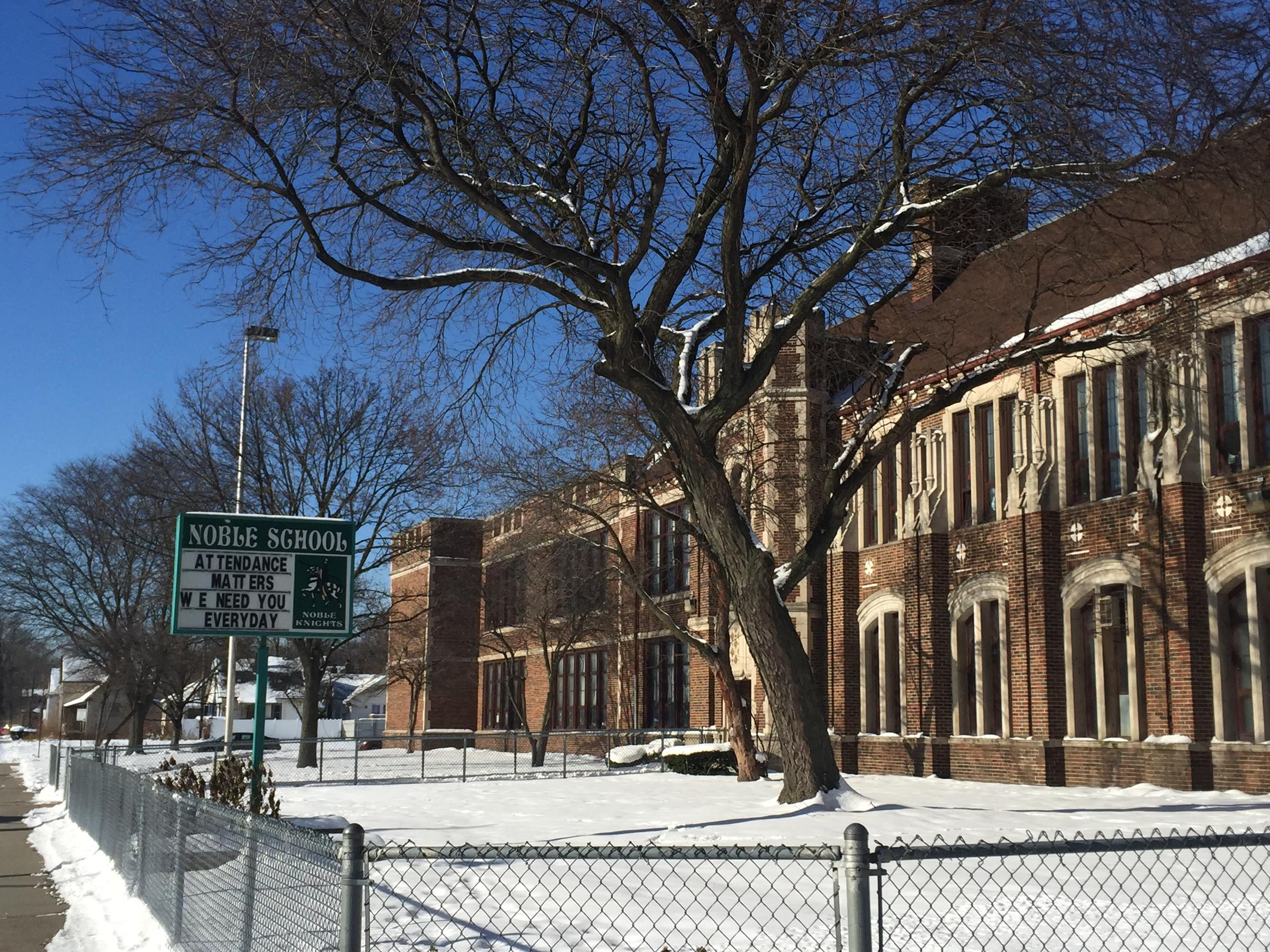 Noble Elementary-Middle School is one of 186 schools identified by the  state as