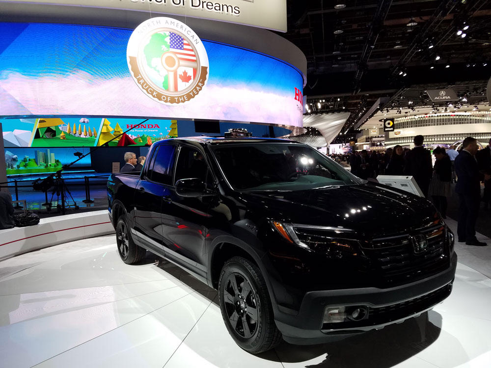 The Honda Ridgeline Won 2017 North American Truck Of Year