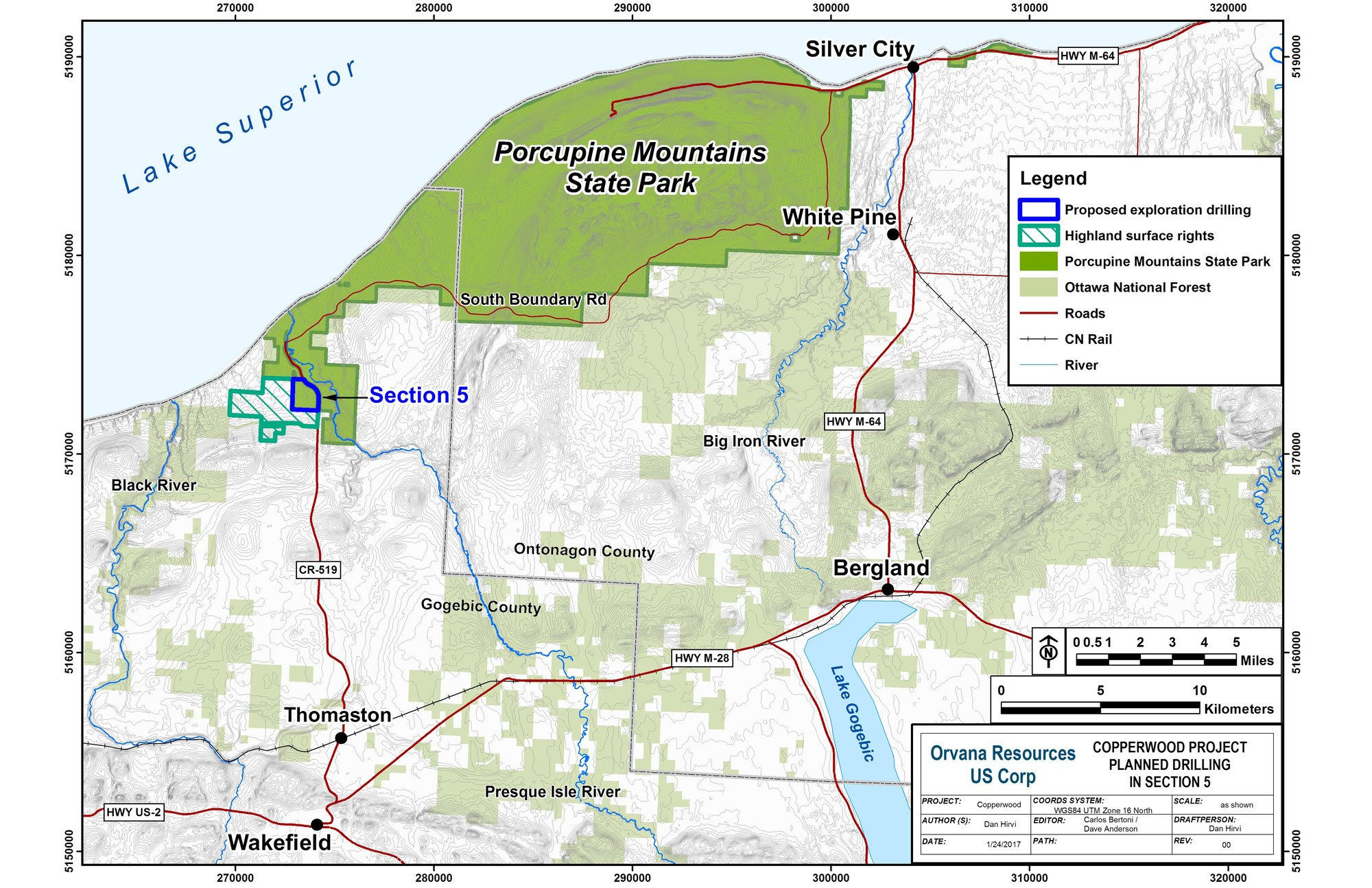 Exploratory Drilling Allowed In Porcupine Mountains