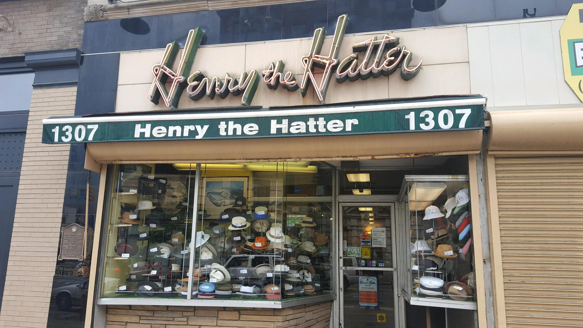 Henry the Hatter forced to close its downtown Detroit store 4ca1558112b