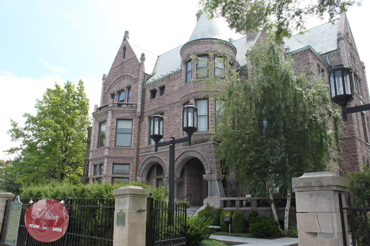 Detroit 39 s whitney mansion is going green michigan radio for The whitney