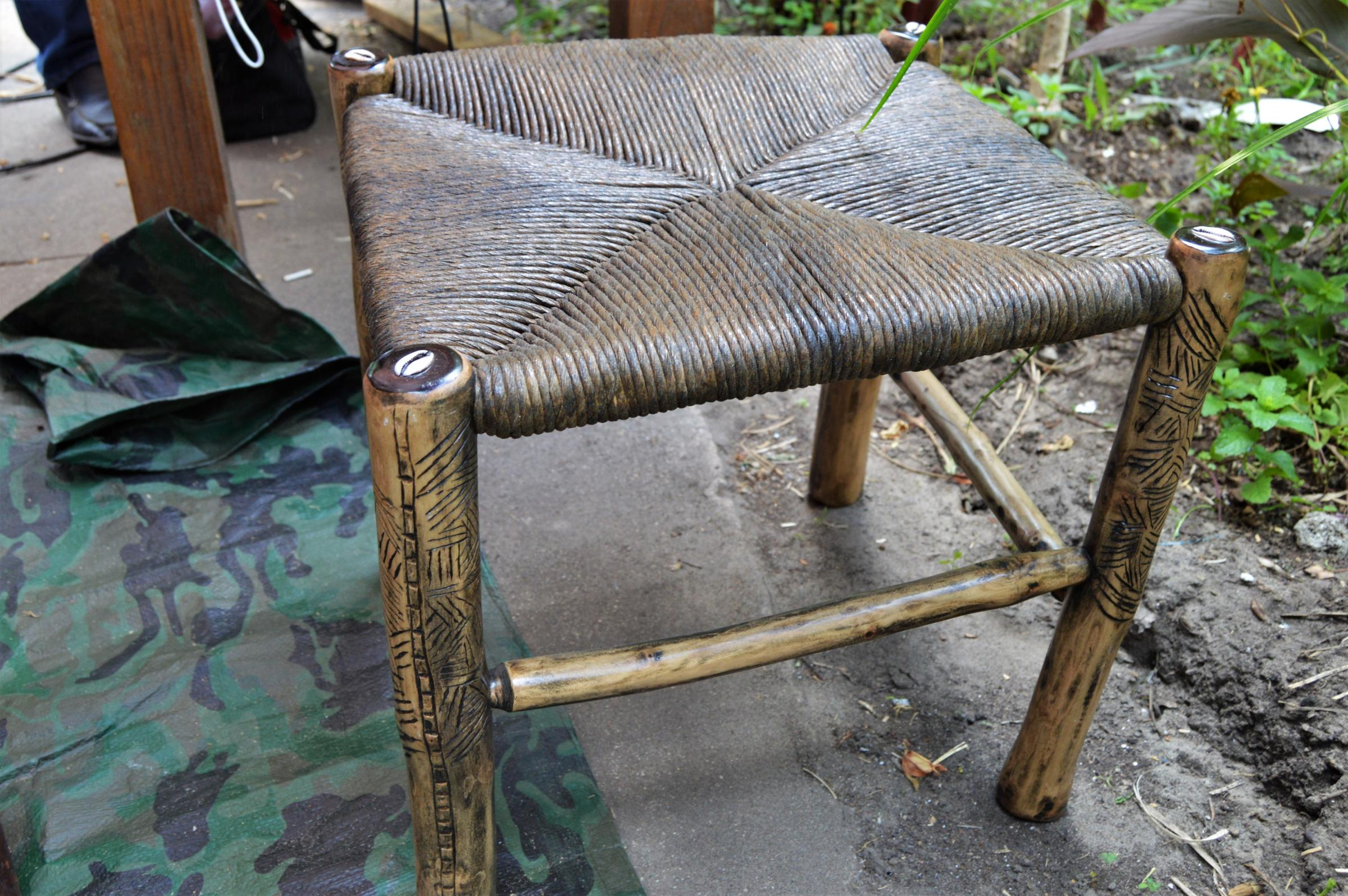 Furniture Designed And Made By Babacar Lo.