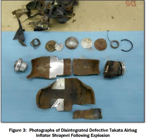 Takata Airbag Led to Death in Louisiana Honda Civic Crash