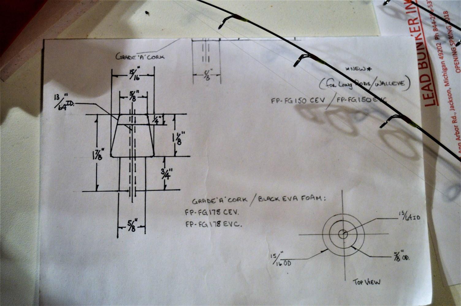 Artisans Of Michigan Making Ice Fishing Rods Radio Artisan Wiring Diagram View Slideshow 4 5