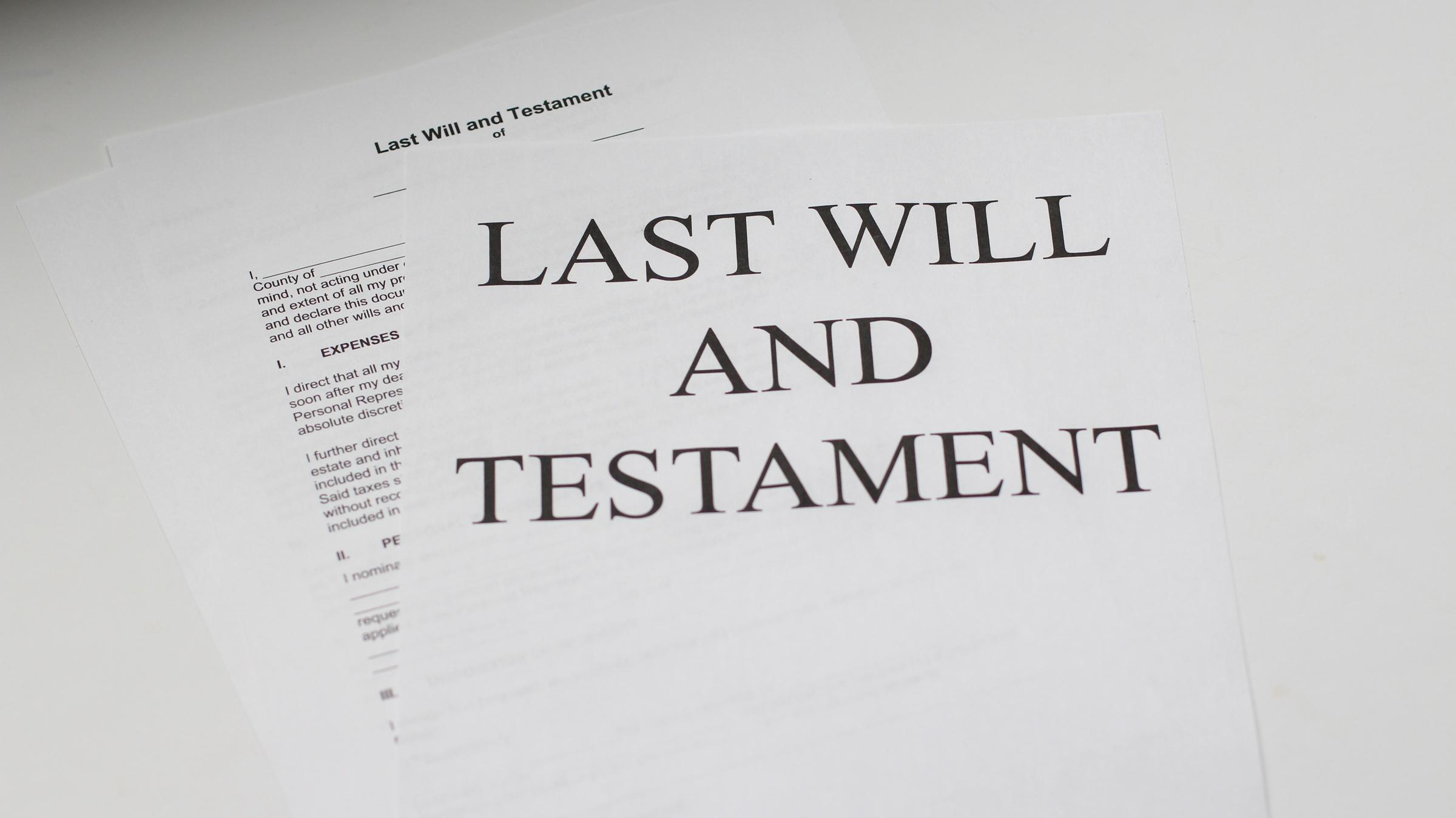 last will and testament michigan The complicated aftermath of dying without a will | Michigan Radio