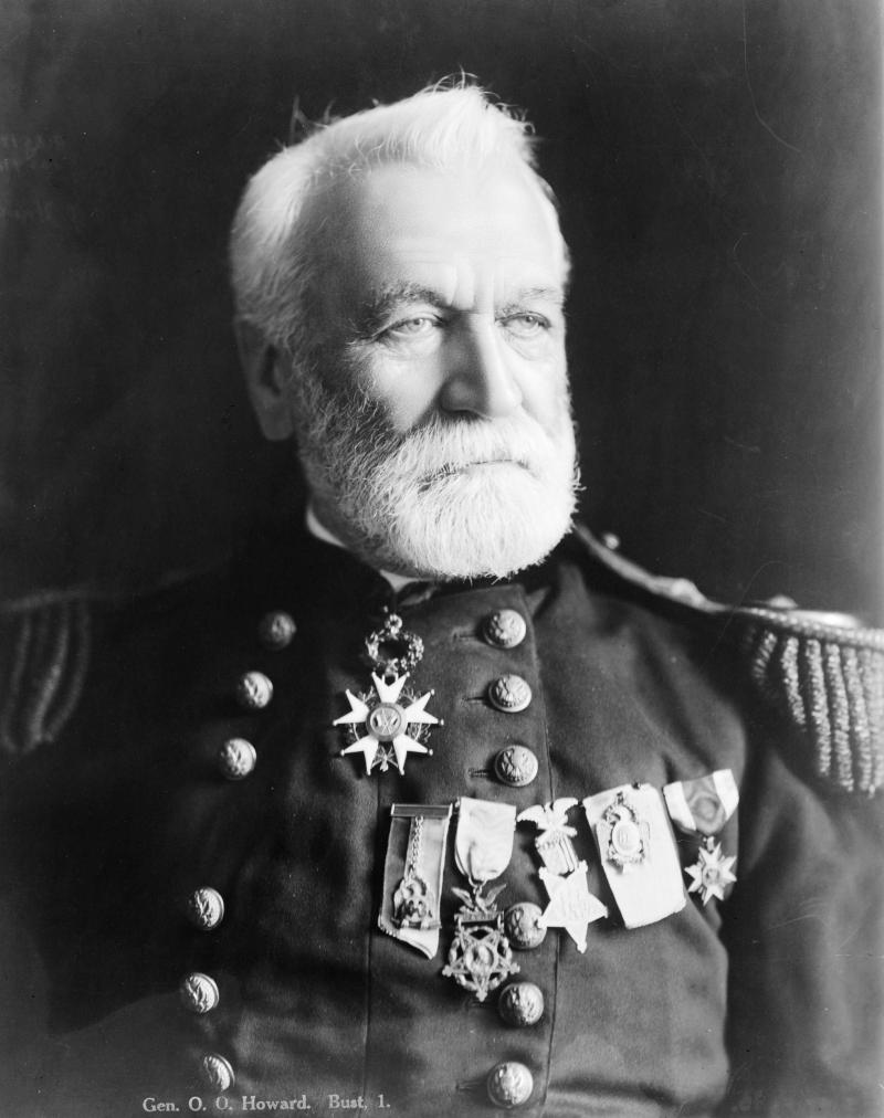 Gen. Oliver Otis Howard, after the American Civil War, circa 1908.