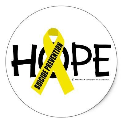 Suicide prevention graphic.