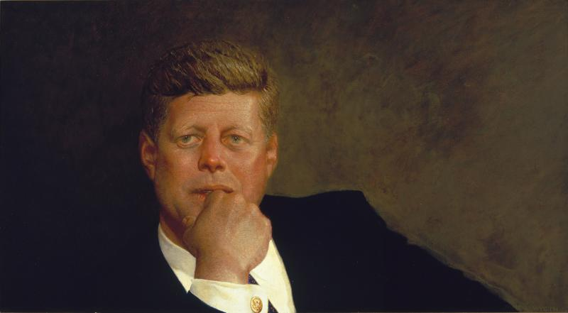 Portrait of John F. Kennedy, 1967.