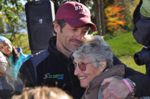 Amanda Dempsey's battle with cancer inspired her son, actor Patrick Dempsey, left, to raise money to create a cancer support organization at Central Maine Medical Center in Lewiston. Amanda Dempsey died March 24 at age 79.