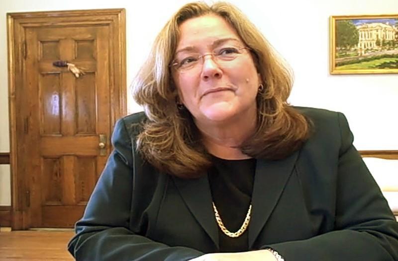 Maine Supreme Court Chief Justice Leigh Saufley