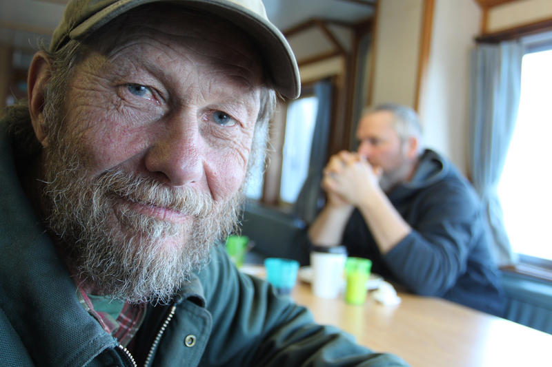 """Lobsterman Leland Small describes the Sunbeam as a """"communications tool"""" for Maine's island communities."""