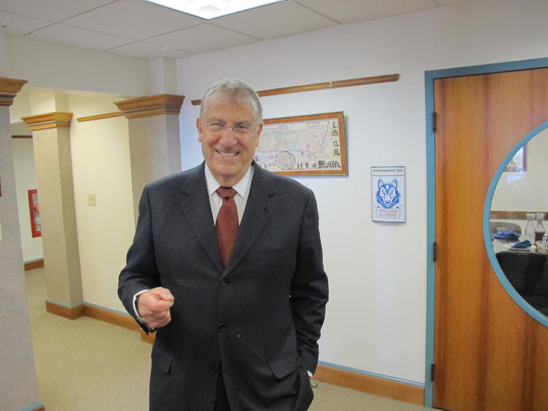 Former Maine candidate for governor Eliot Cutler today begins his new job as CEO the University of Maine System's Professional and Graduate Center Initiative.