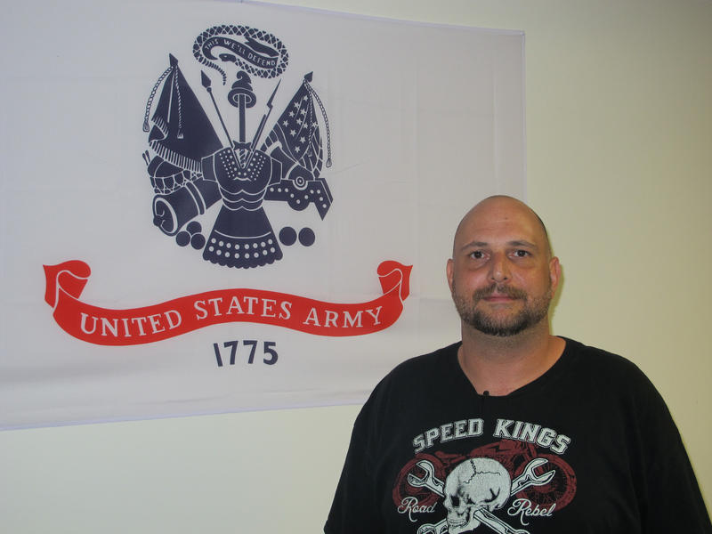 Army veteran Jesse Horl says the Veterans Inc. facility has provided him with his own space, for the first time in seven years.